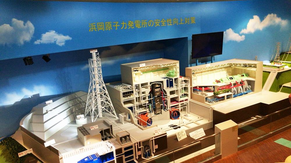 中部電力加茂電力センター 浜岡原子力発電所見学会 中部ラインマン協力会 施設模型